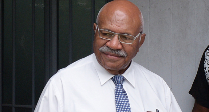 Leader Of Opposition, Sitiveni Rabuka
