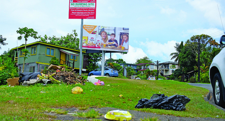 Suva Alert! Litter Bugs At It Again