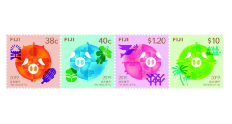 Chinese Year Of Pig Stamps Launched In Suva