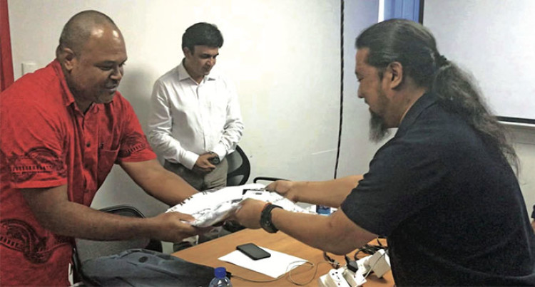 Flying Fijians Jerseys To Thank Asia Media Design Trainers