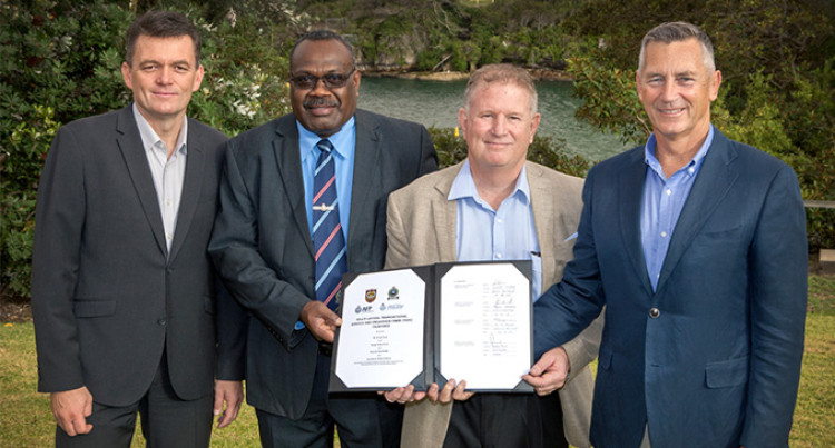 Fiji Police Ink Agreement To Tackle Regional Transnational, Serious And Organised Crime