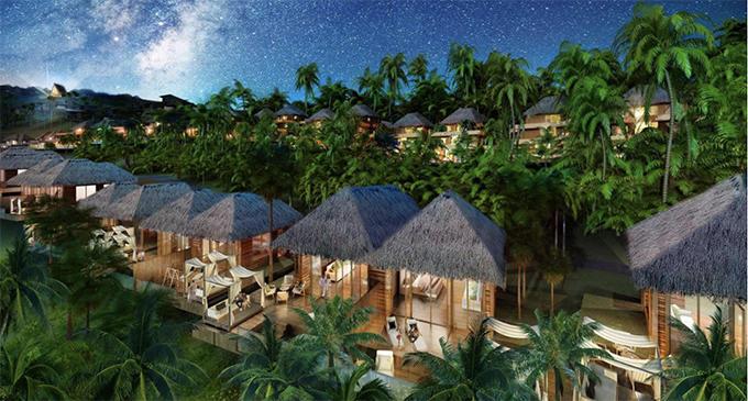 An artist's impression of the FreeSoul development on Malolo Island. Photo: FreeSoul