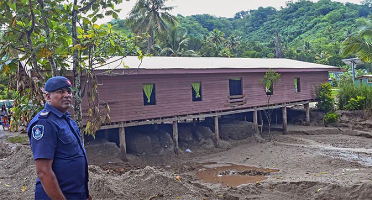 Draubuta Village: 13 Families Evicted After Landslide