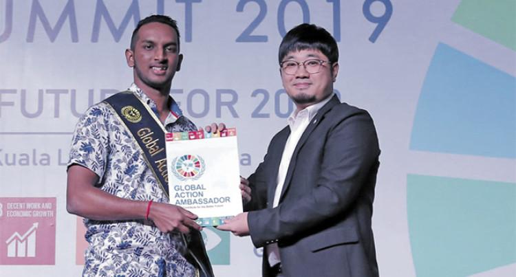 Global Goals Ambassador, Patrick Lal Hopes To Empower Youths