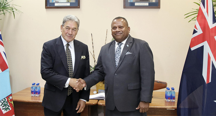 New Zealand, Fiji Governments Issue Joint Statement