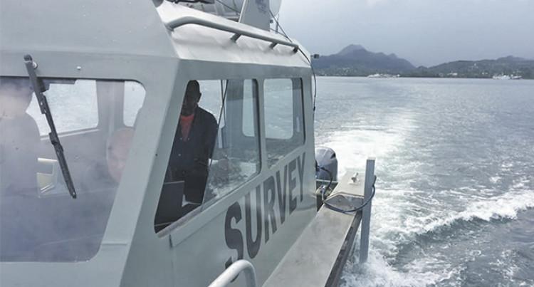 Multibeam Sonar Training For Fiji Navy