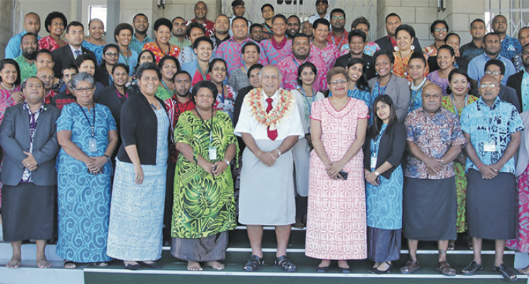 Focus: Ratu Epeli Reminds Staff To Be Efficient