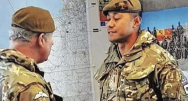 Top Award For Fijian British Army Trooper