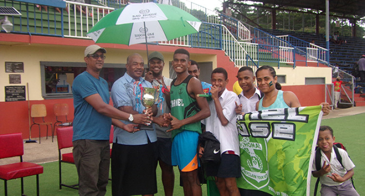 Chanel Wins St Thomas High School Inter-House Athletics Meet