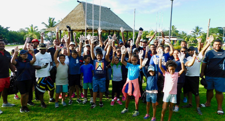 Fiji Rugby Warriors Join In Community Work