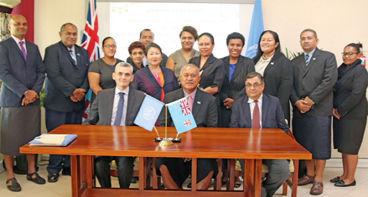 UNDP Forge Strong Ties With Fiji