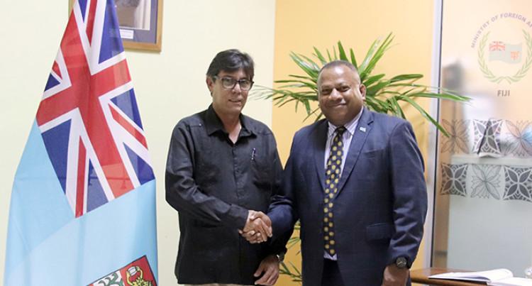 Fiji, Cuba Bolster Diplomatic Ties