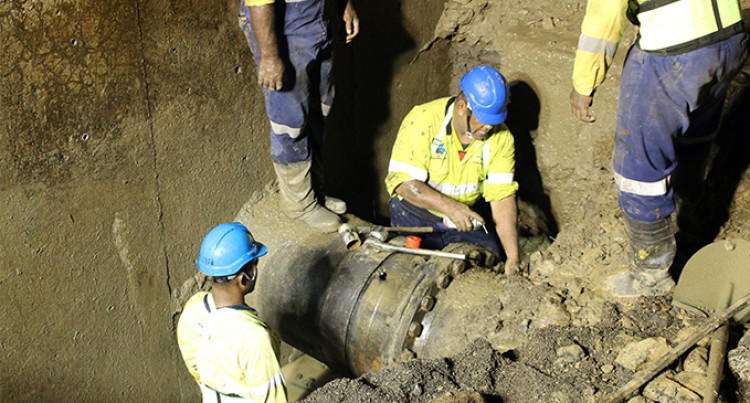 Water Authority Of Fiji: Major Leakage Along Vaturu- Nagado Pipeline Repaired