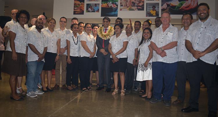 Ali Opens Upgraded Fiji Gas Showroom