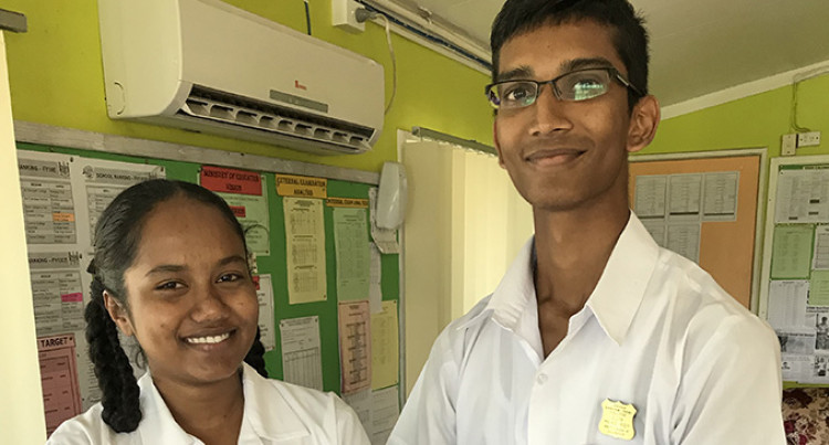 Labasa Sangam: Head Prefects Excel For Parents' Sake