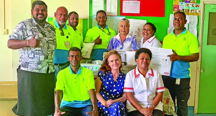 Tavua Hospital Gets $100K Boost From FIJI Water And Cure Kids