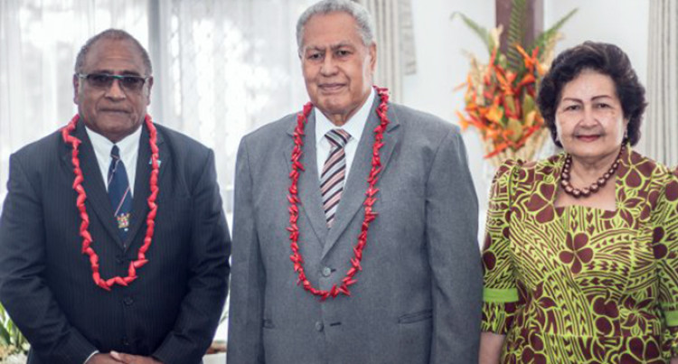 New Roving Ambassador Presents Credentials to Samoan Head Of State