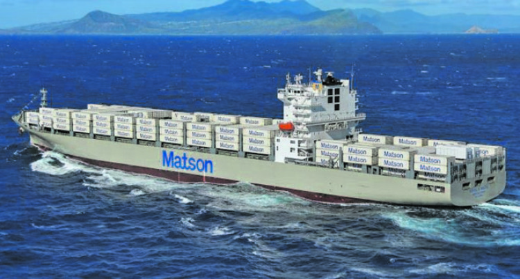 Matson Shipping Launches Upgraded Service To Christmas (Kiritimati) Island