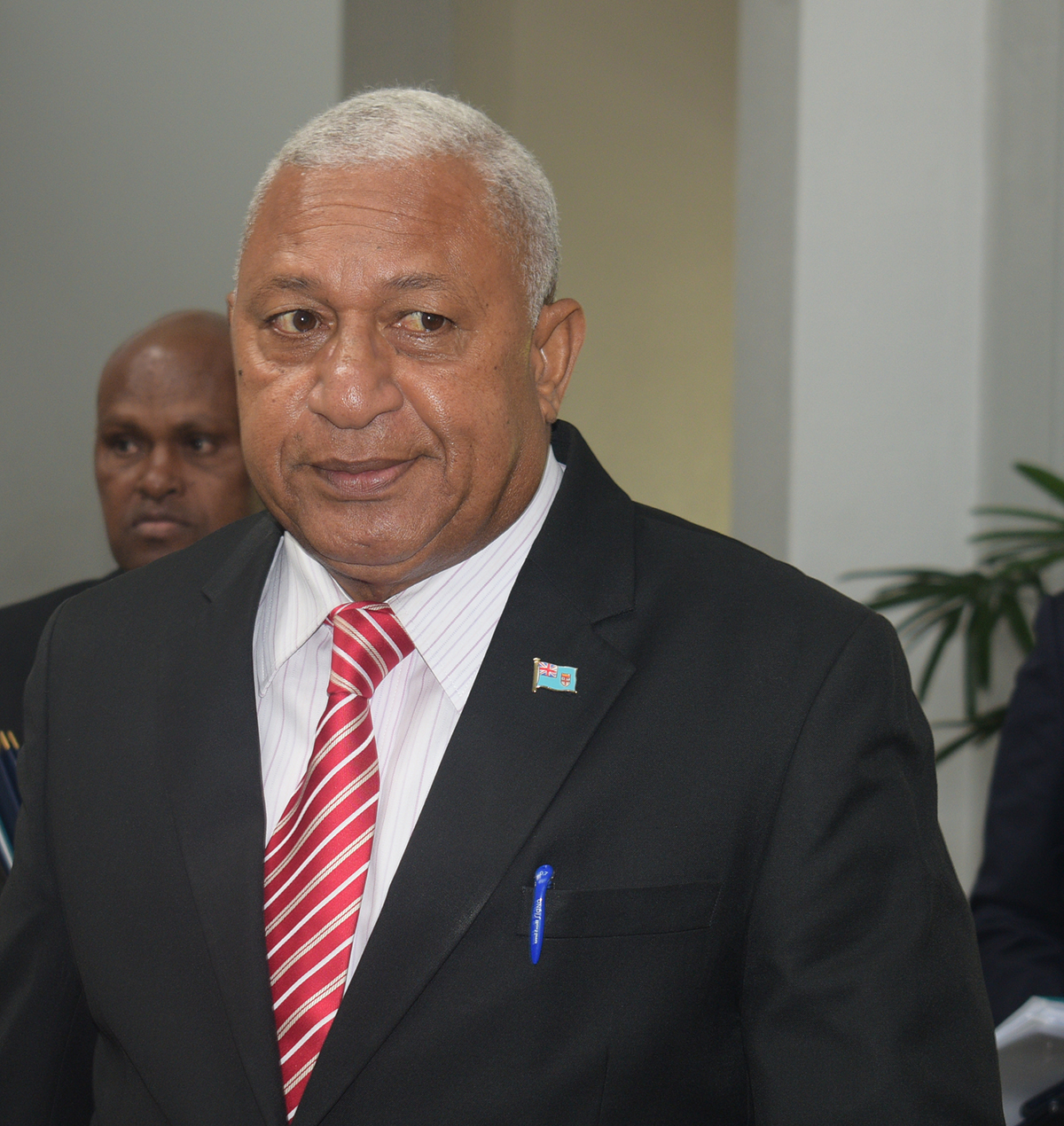Prime Minister and Minister for iTaukei Affairs and Sugar Industry Voreqe Bainimarama at the parliament house on February 11,2019.Photo:Simione Haravanua.