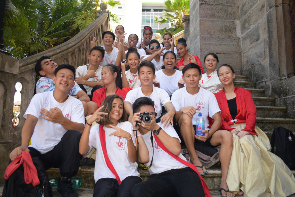 The Chinese Youth group during the Asian New Years mass at the Sacred Heart Cathedral Suva on February 17,2019.Photo:Simione Haravanua.