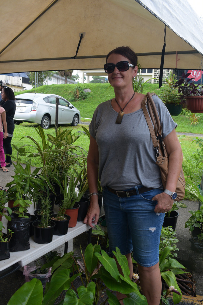 Roc Market organizer Ellana Kalounisiga during the Roc Market in Suva on February 17,2019.Photo:Simione Haravanua.