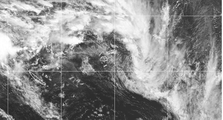 Tropical Disturbance Develops in the North of Fiji