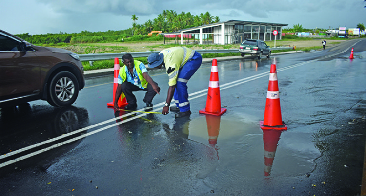 Work Begins On Denarau Bridge Sewage Spill