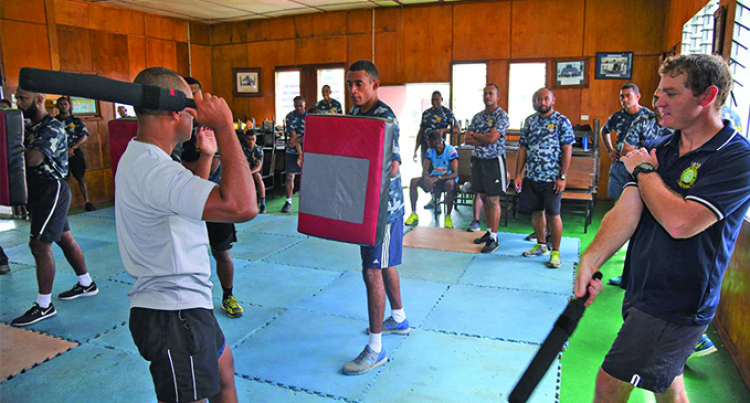 Training Assists Fijian Navy Officers, Enhancing Skills