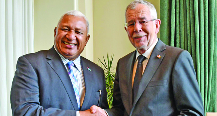Prime Minister Bainimarama Meets Austrian President