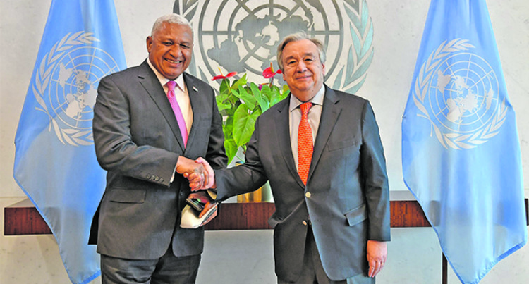 United Nations Secretary-General Antonio Guterres To Visit Fiji