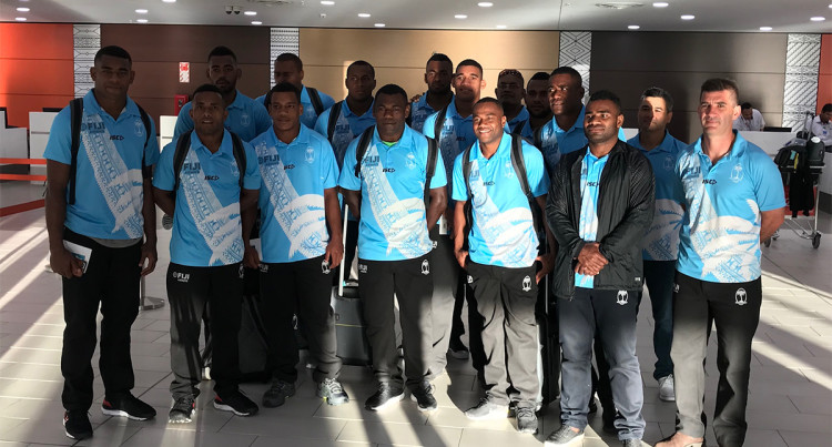 Fiji 7s Team Departure For Hong Kong And Singapore 7s This Morning, 28th March, 2019