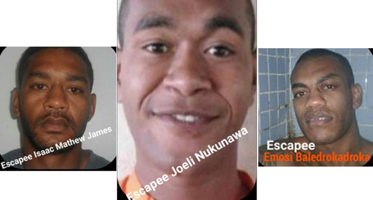3 Prisoners Escape From Lautoka Police Station