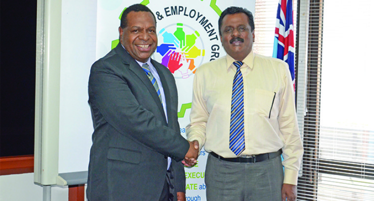 Praveen Bala And PNG Minister Kipefa Discuss Future Plans