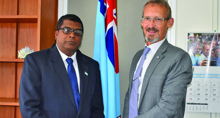 Commonwealth Organisation Rep, Reddy Talk Marine Pollution