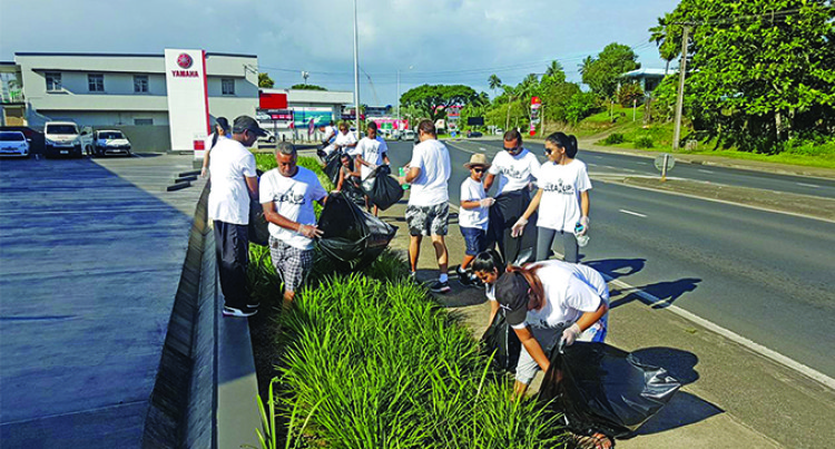 Asco Motors organises clean-up campaign in Suva and Labasa