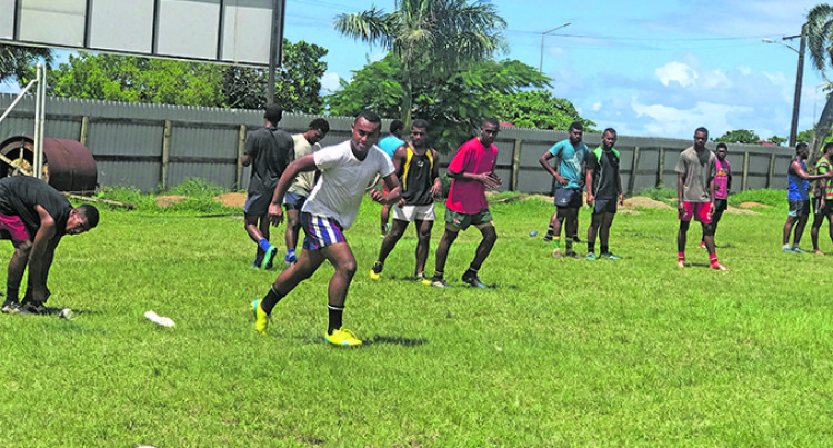 Gau Kacau Knights for Marist 7s