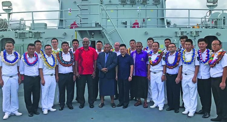 Minister Seruiratu Praises Fiji-China Navy Ties