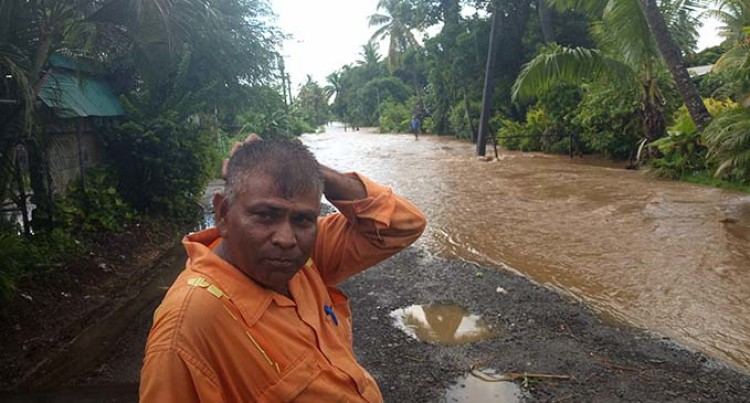 Downpour Causes Flooding At Lautoka City Outskirts