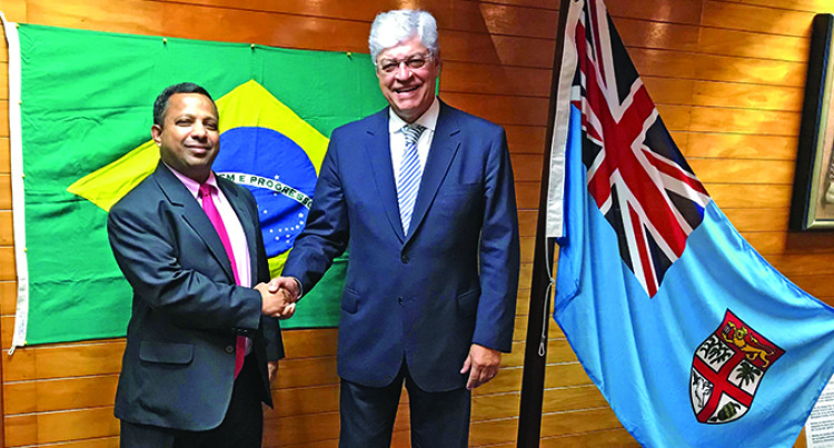 Nouzab Fareed Honorary Consul for Brazil in Fiji