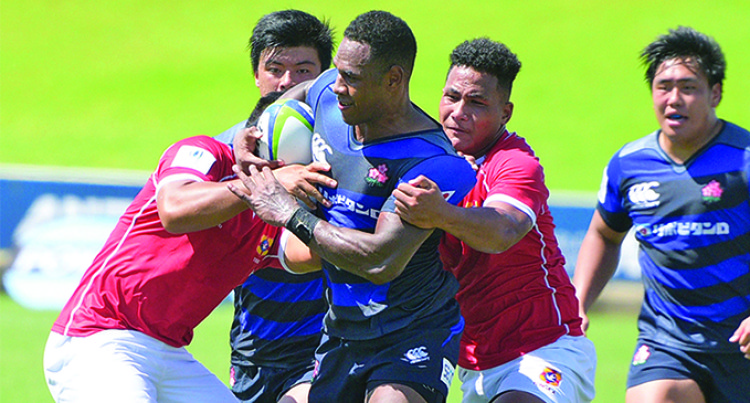 Junior Japan Overpowers Tonga A