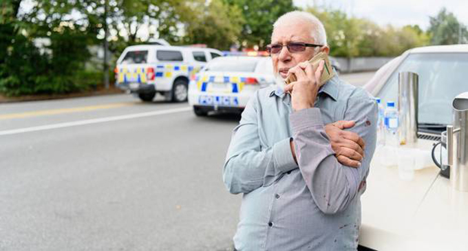 Ramzan Ali, 62, was the last person to leave the Al Noor mosque on the day of the shooting.
