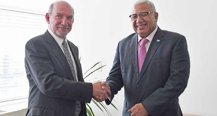 PM Bainimarama Meets UN Special Envoy To Climate Summit 2019