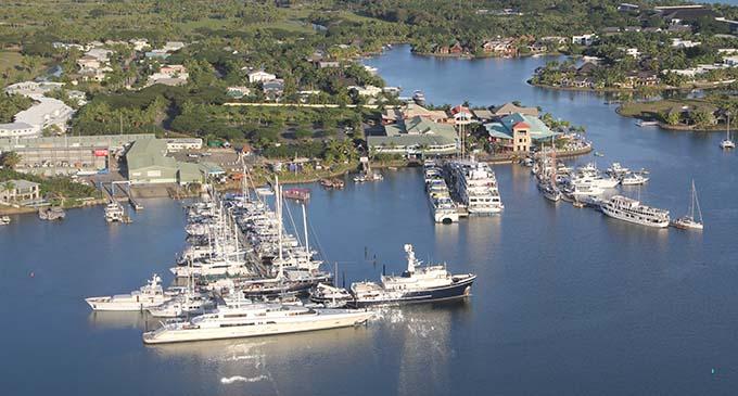 Port Denarau Marina.