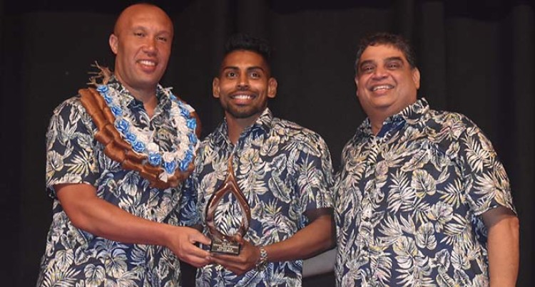 Special Award For Roy Krishna At Fiji Football Associa­tion Awards