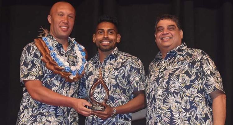 Special Award For Roy Krishna At Fiji Football Association Awards