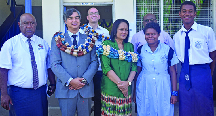 Akbar Launches French Language Classes At Ratu Navula College