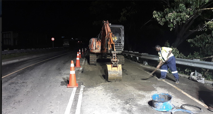 Repairs To Wastewater Leakage At Denarau Bridge Completed