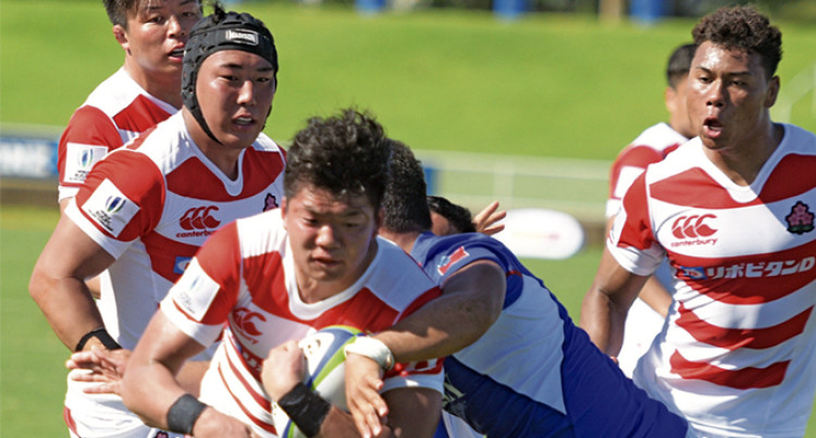 Junior Japan Win First Challenge