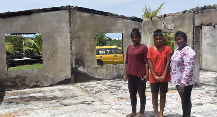 Sisters Miss Classes After Fire Burns Home