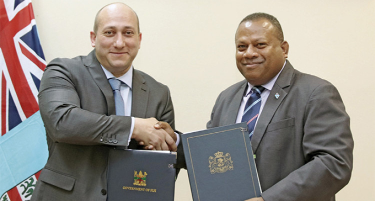Visa Free Agreement For Fiji And Georgia